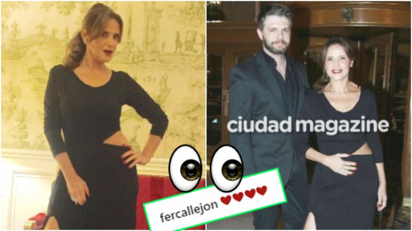 La sugestiva foto de Fernanda Callejón en medio de los rumores de un segundo embarazo (Fotos: Instagram y Ciudad Magazine)