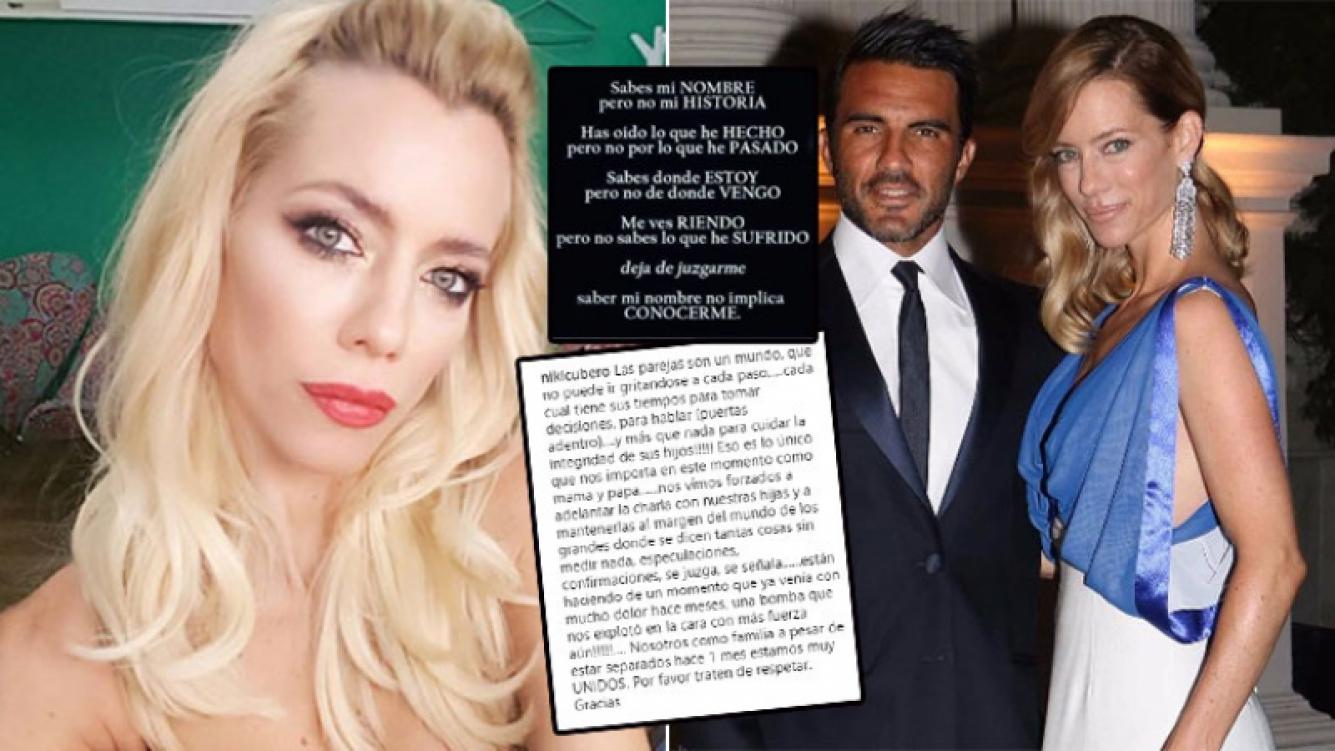Nicole Neumann, tras la repercusión de su separación de Fabián Cubero