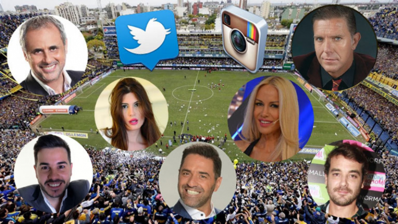 ¡Pasión en las redes! Los tweets de los famosos por el Superclásico entre Boca y River