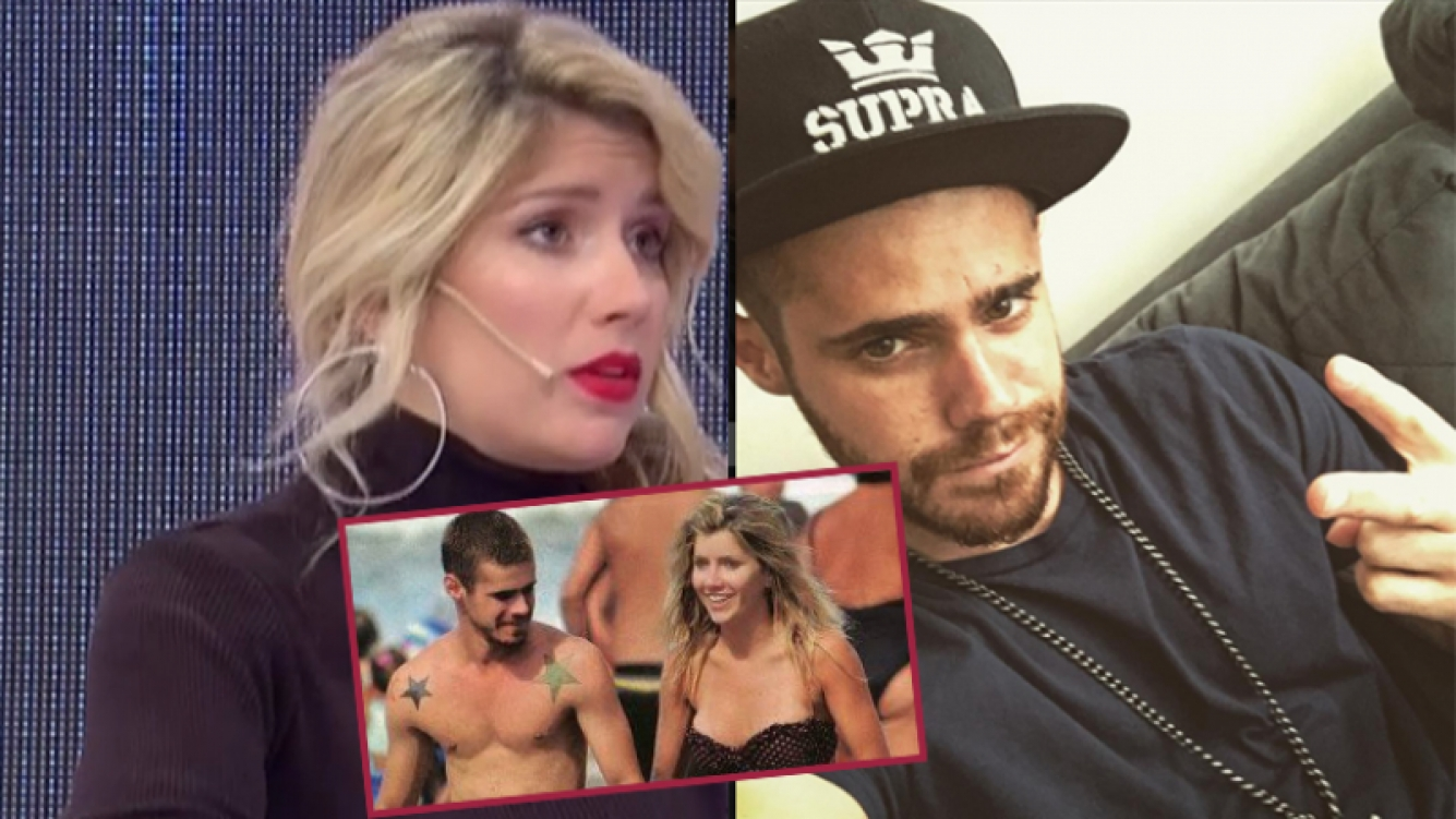 Laurita Fernández le respondió a Gastón Soffritti (Fotos: Capturas e Instagram).
