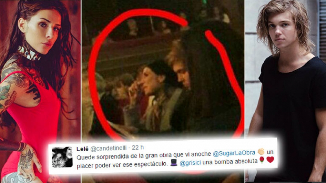 Primera foto de Candelaria Tinelli y Franco Masini ¿confirmarán el romance?