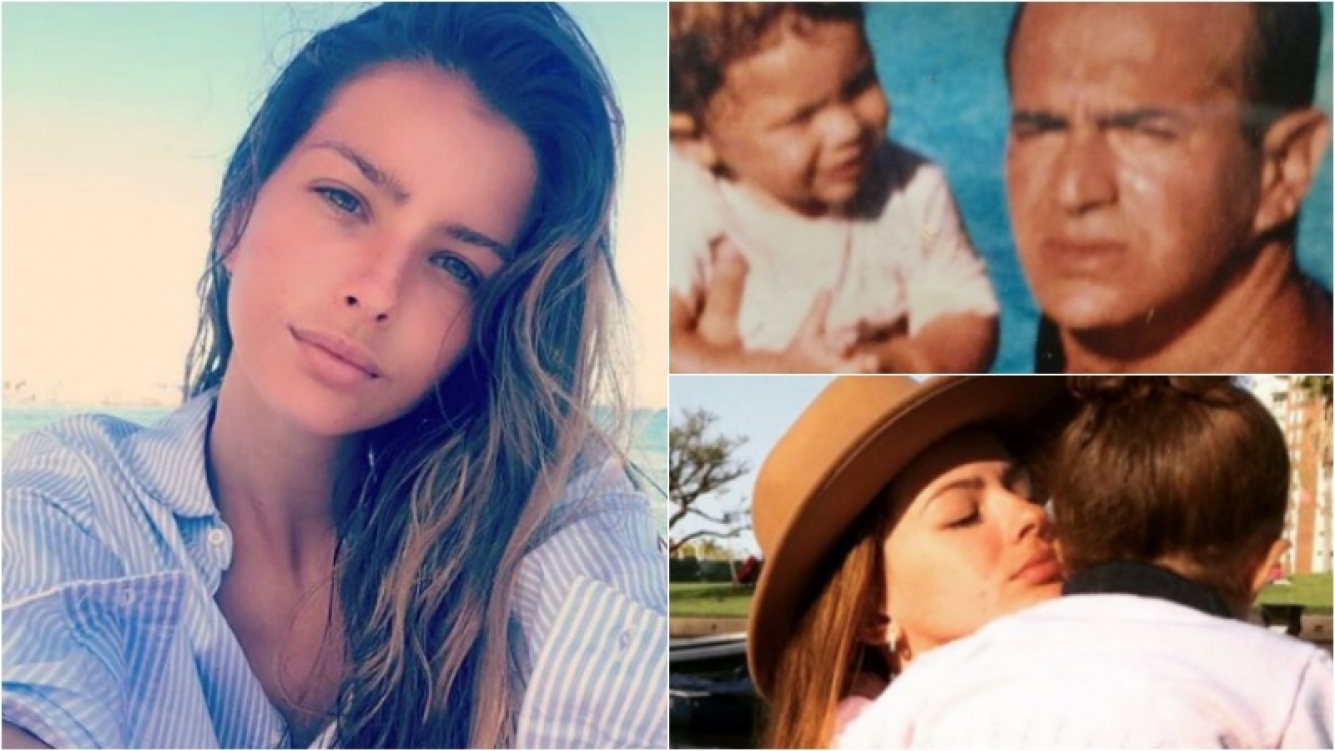 """La China Suárez, a corazón abierto: """"La maternidad me salvó; murió mi papá y a los meses quedé embarazada"""" Foto: Instagram"""