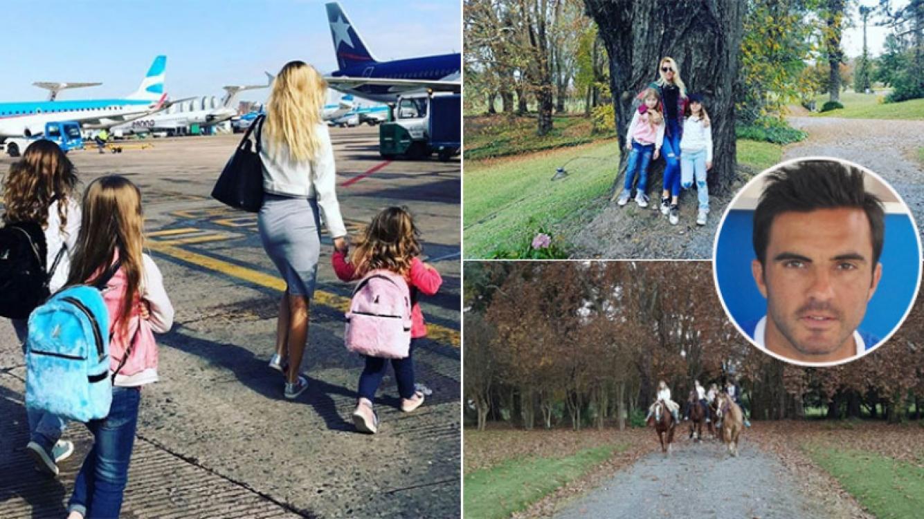 Nicole Neumann viajó a Salta junto a sus hijas (Foto: Instagram)