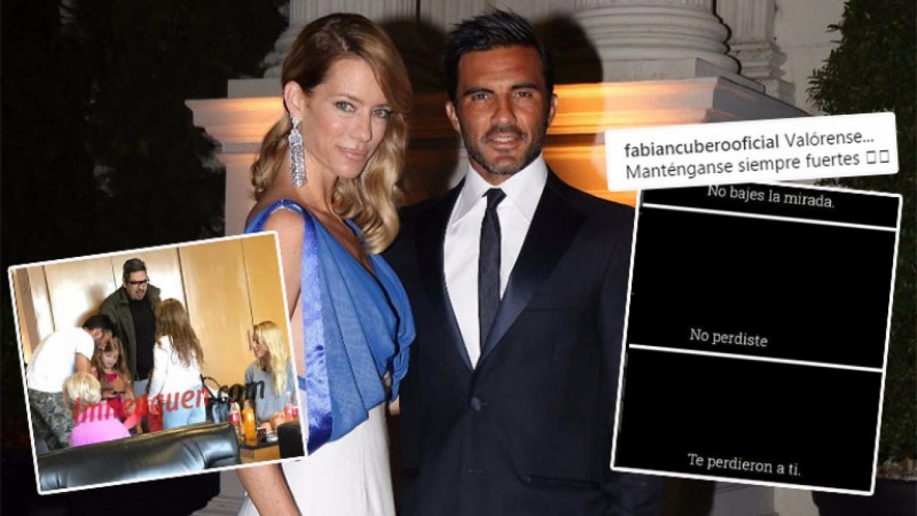 Nicole Neumann y Fabián Cubero, tras la separación (Foto: lmneuquen e Instagram)