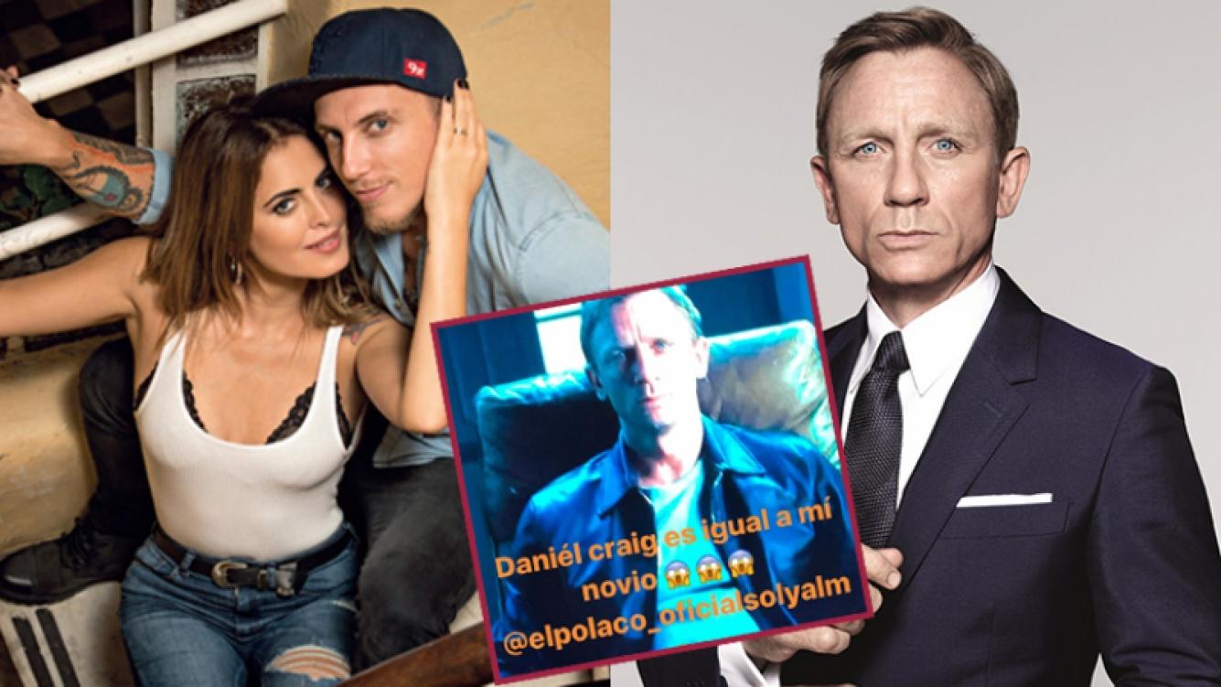Silvina Luna cree que el Polaco es igual a Daniel Craig.