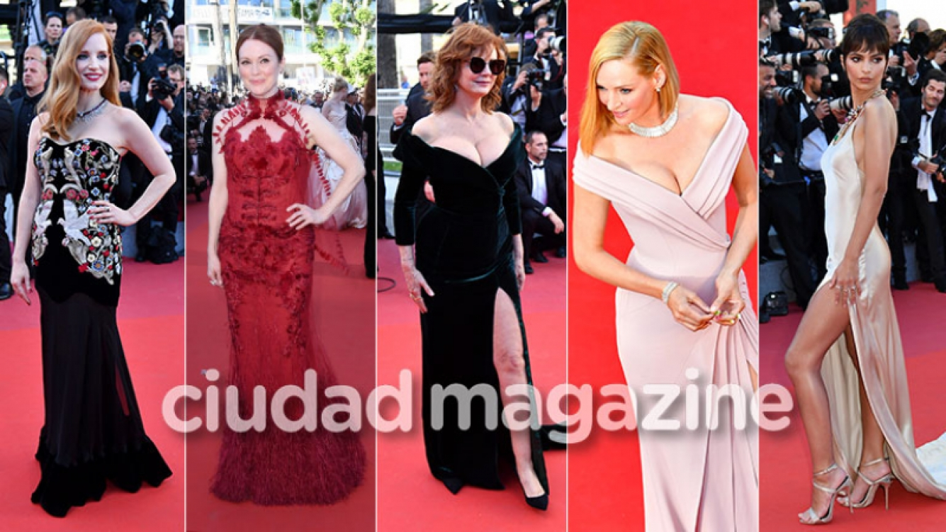 Espiá los looks de las celebrities de Hollywood en el Festival de Cannes. (Foto: AFP)