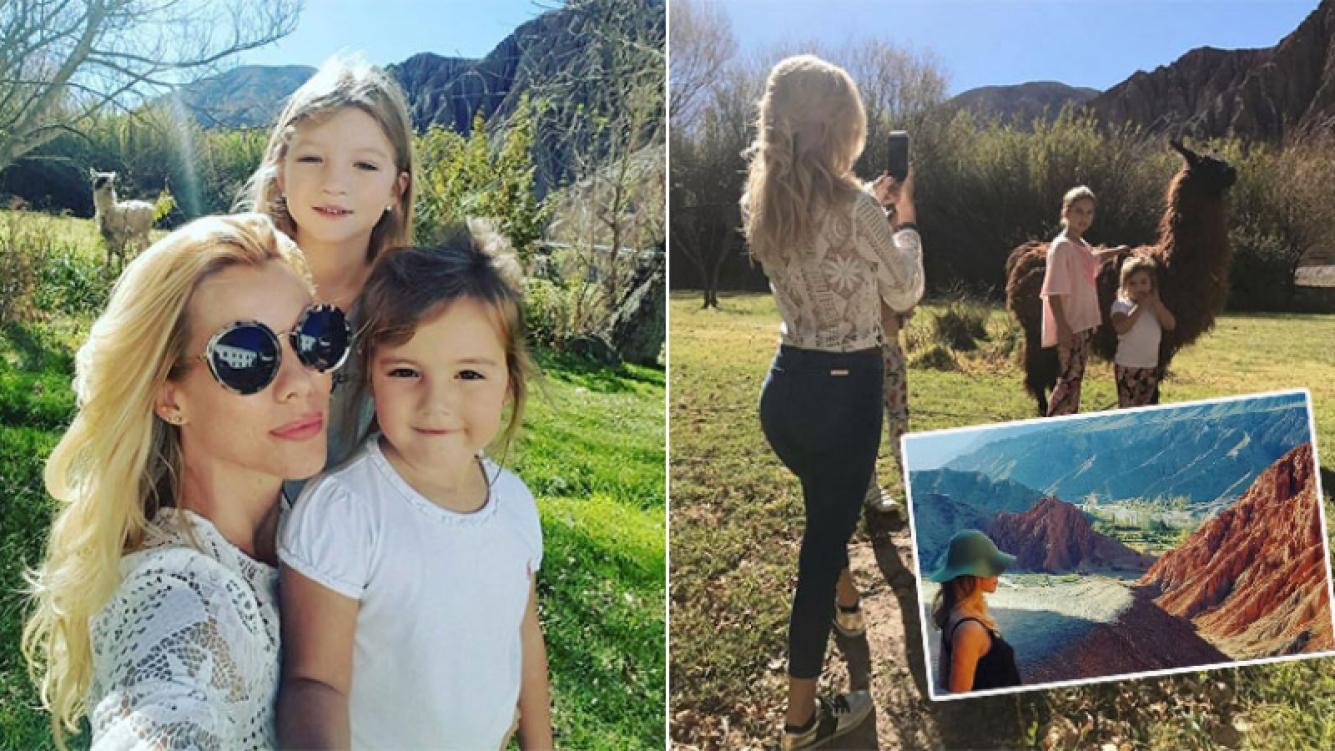 Los días de Nicole Neumann junto a sus hijas en Jujuy (Foto: Instagram)