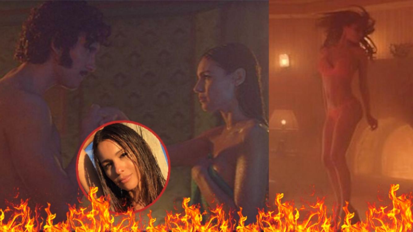 Se filtraron imágenes de la película erótica de Pampita
