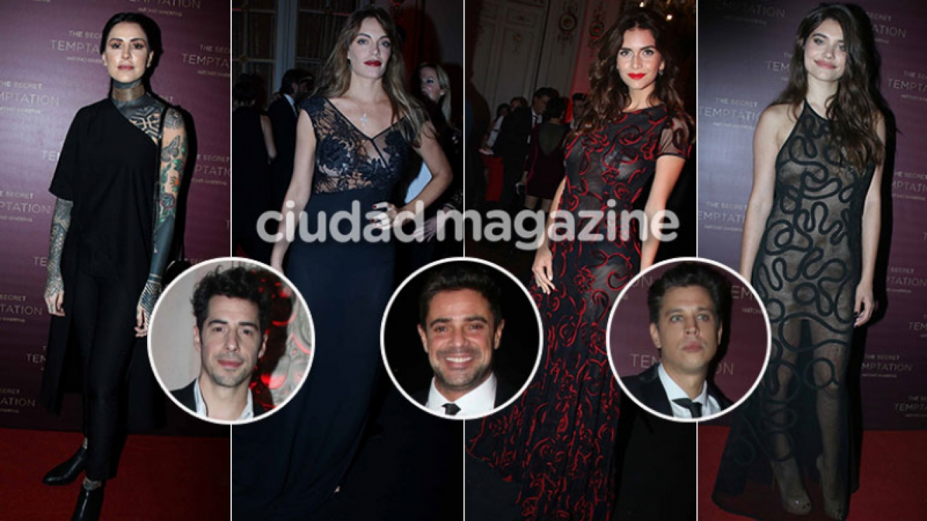 Diosas y galanes en un evento top (Foto: Movilpress)