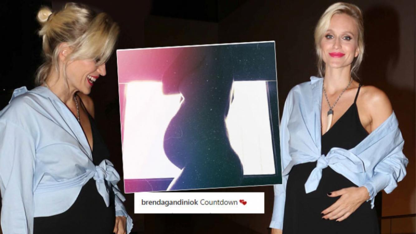 Brenda Gandini posó desnuda con su pancita de embarazada: