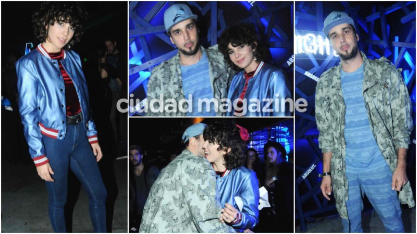 Dante Spinetta, súper cómplice con Cata Zavaleta en un evento (Fotos: Movilpress)