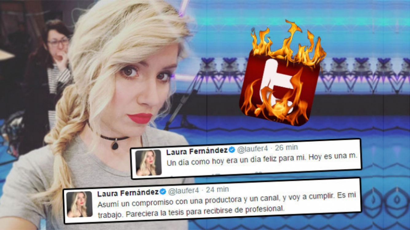 Fuertes tweets de Laurita, en medio de su escandalosa separación de Fede Bal.