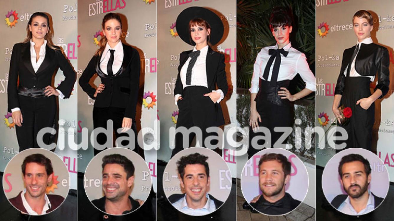 Los looks súper elegantes de las actrices y galanes de Las Estrellas (Foto: Movilpress)
