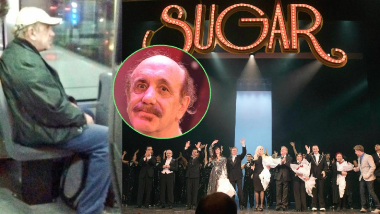 Roberto Catarineu, el famoso gasolero que tras finalizar con la exitosa obra Sugar, se toma el 39 (Fotos: Twitter, Web y Ciudad Magazine)
