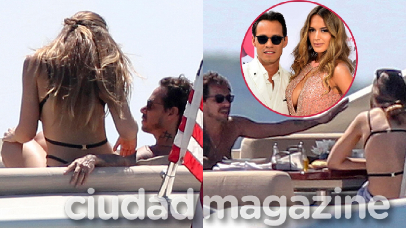 Marc Anthony y Shannon de Lima, juntos en Miami (Fotos: Grosby Group).