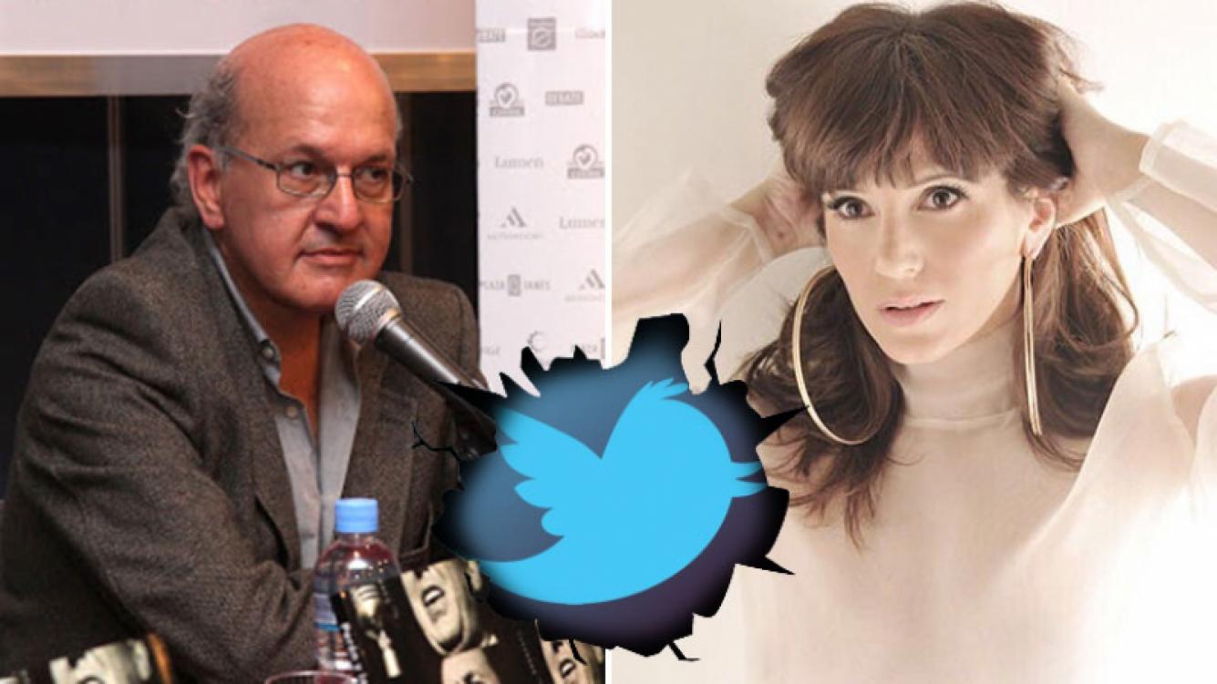 Pablo Sirvén y Griselda Siciliani se cruzaron en Twitter. (Foto: Web)