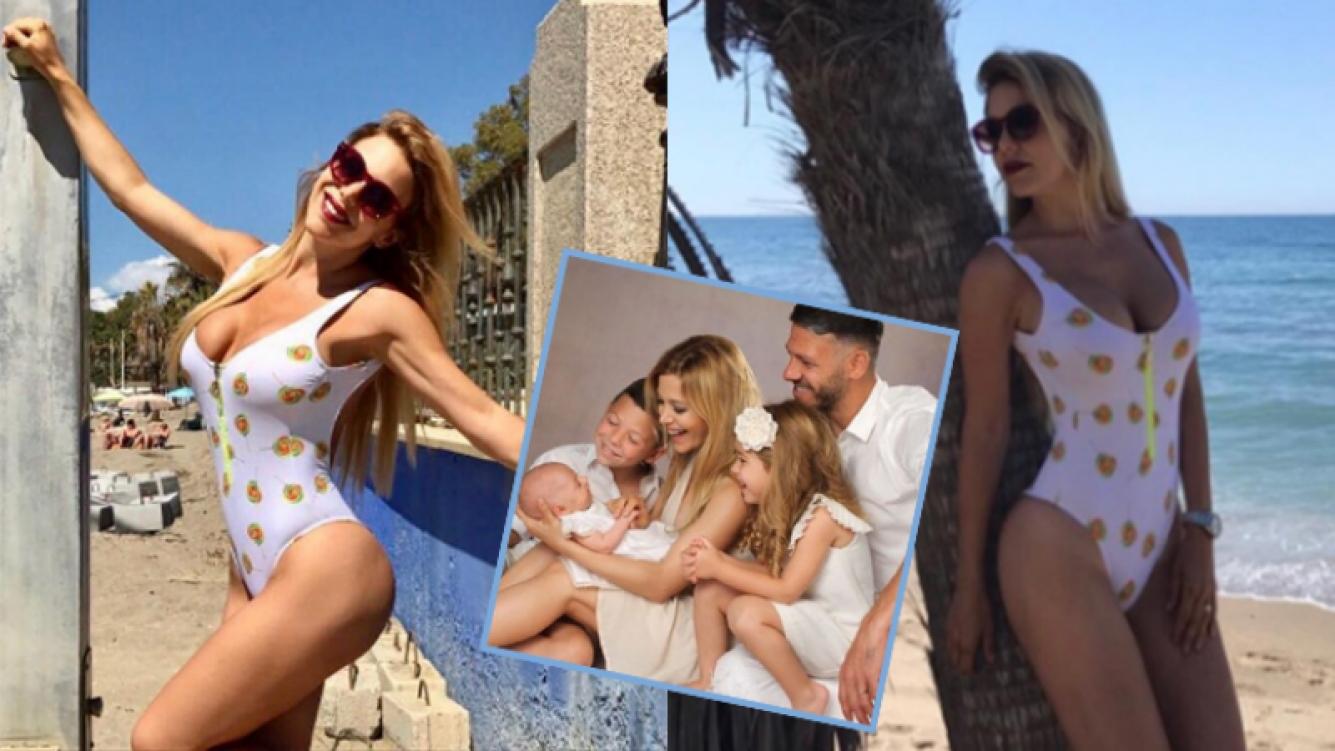 Evangelina Anderson, diosa total en Marbella (Fotos: Instagram).