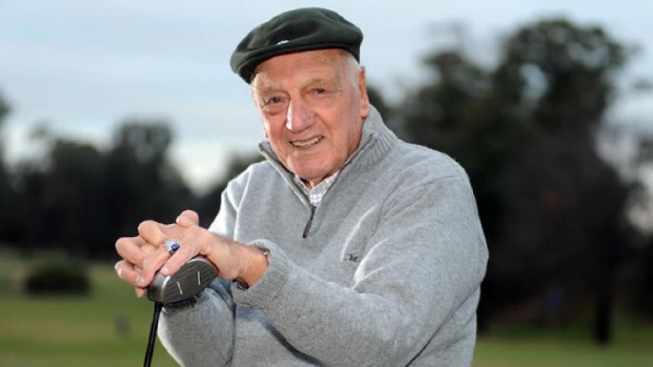 Roberto De Vicenzo murió a sus 94 años.
