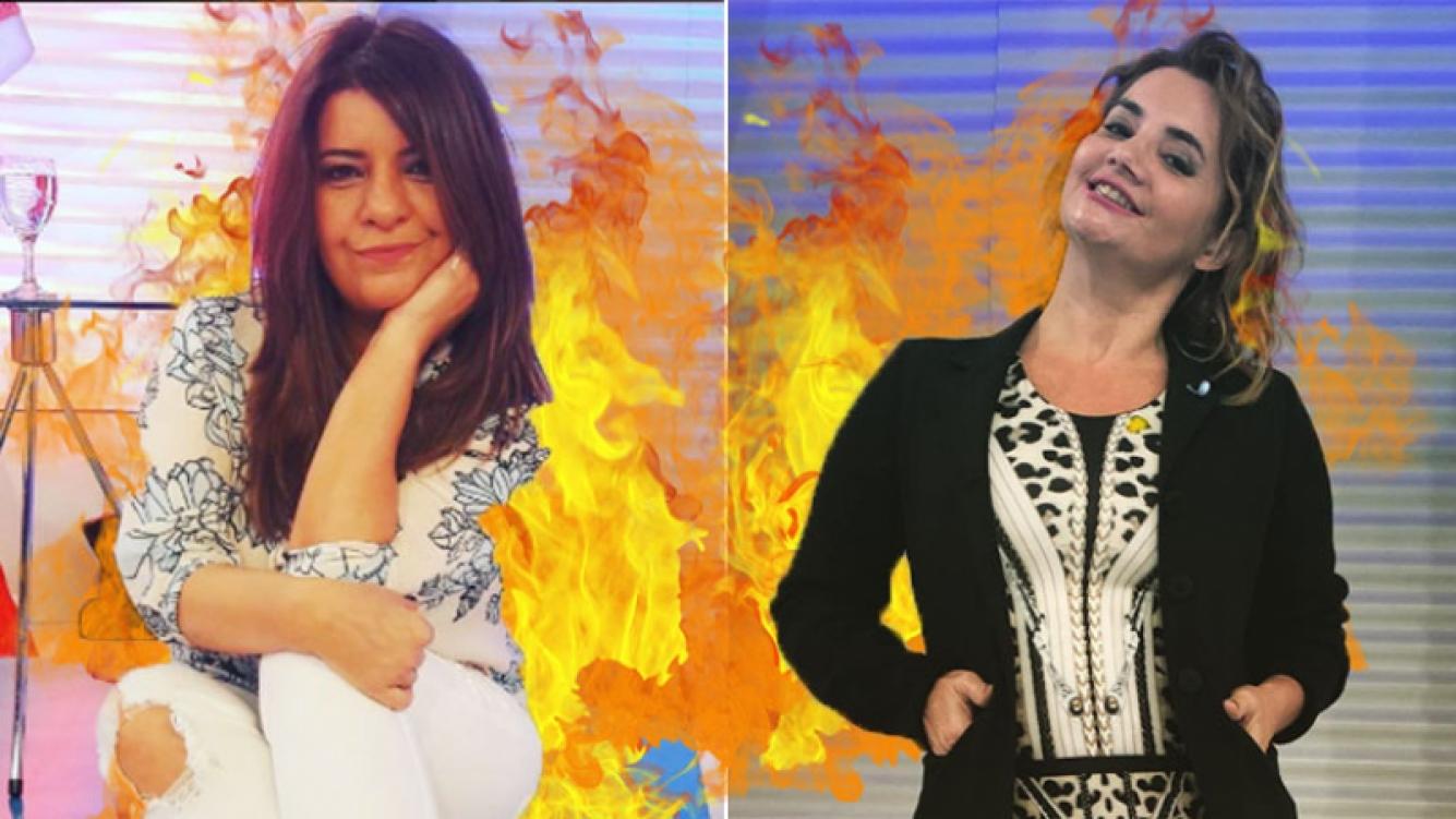 Andrea Taboada y la interna feroz con Nancy Pazos