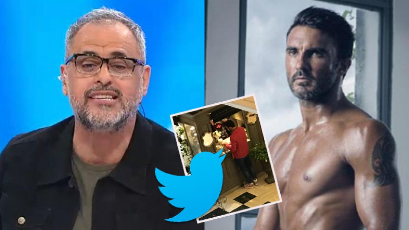 Jorge Rial y Fabián Cubero en un picante cruce en Twitter.