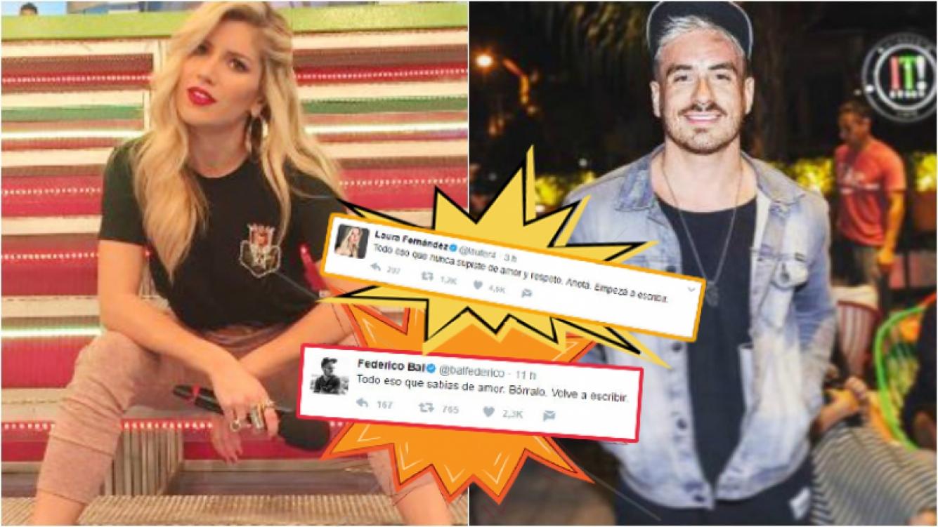 La contundente indirecta twittera de Laurita Fernández a un mensaje de Fede Bal. Foto: Instagram