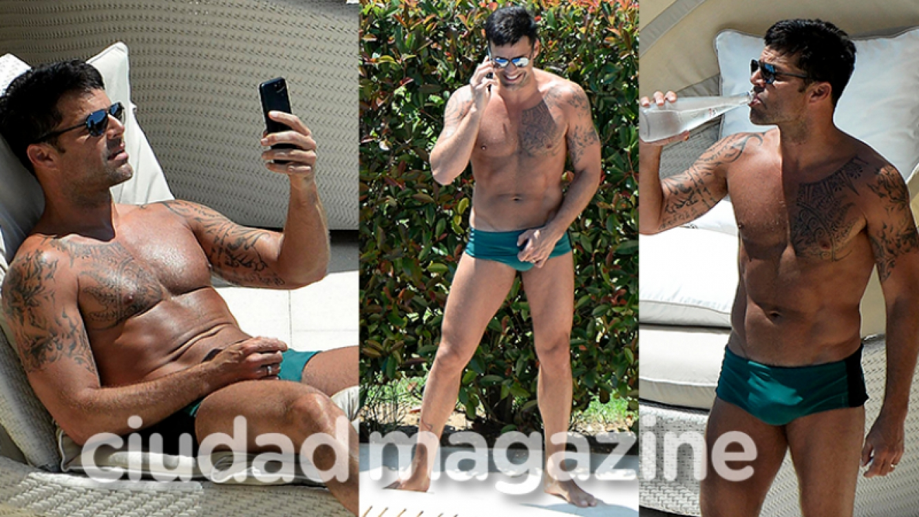 Ricky Martin y sus fotos más sexies en España  (Fotos: Grosby Group).