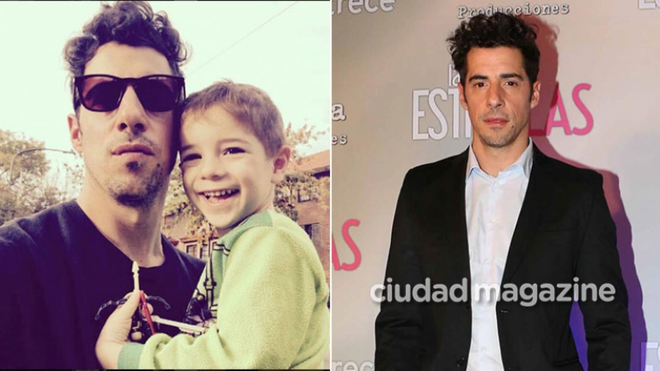 Esteban Lamothe habló de la relación con su hijo como padre separado. (Foto: archivo Ciudad e Instagram)