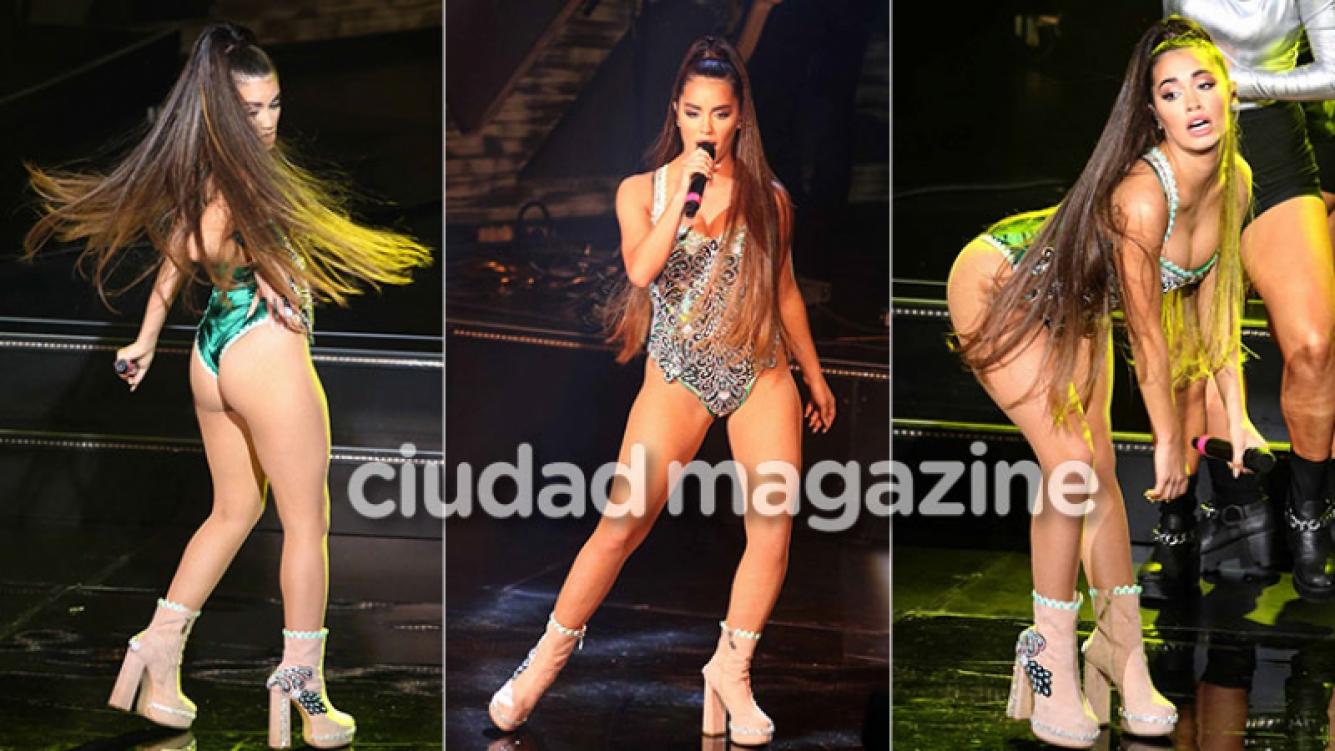 Lali Espósito, súper sexy en el show de los Premios Gardel (Foto: Movilpress)