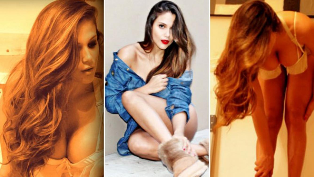Barbie Vélez, súper hot para una marca de calzado. Foto: Prensa.