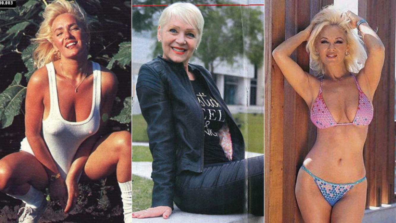 Judith Gabbani, ayer y hoy. (Fotos: revista Pronto y archivo Web)