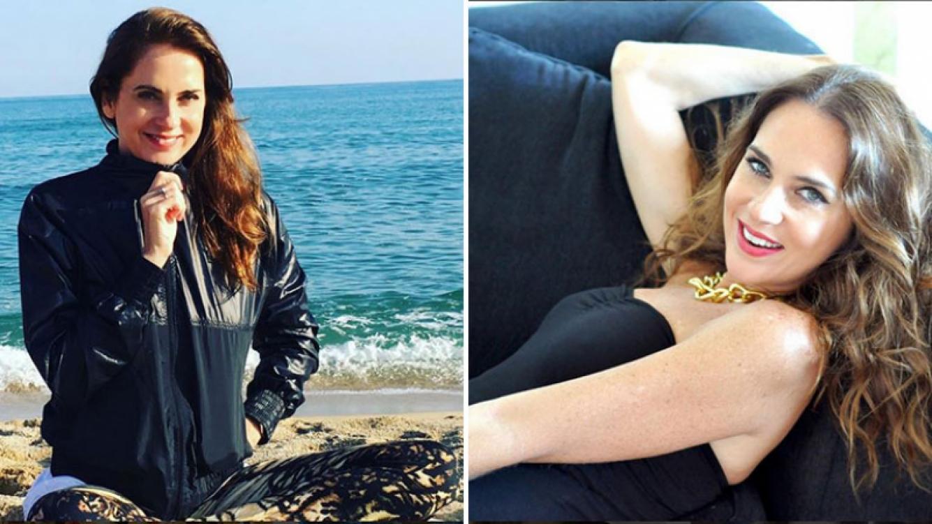 Florencia Ortiz, la mala de las telenovelas, vive a orillas del Mar Mediterráneo. Foto: Instagram