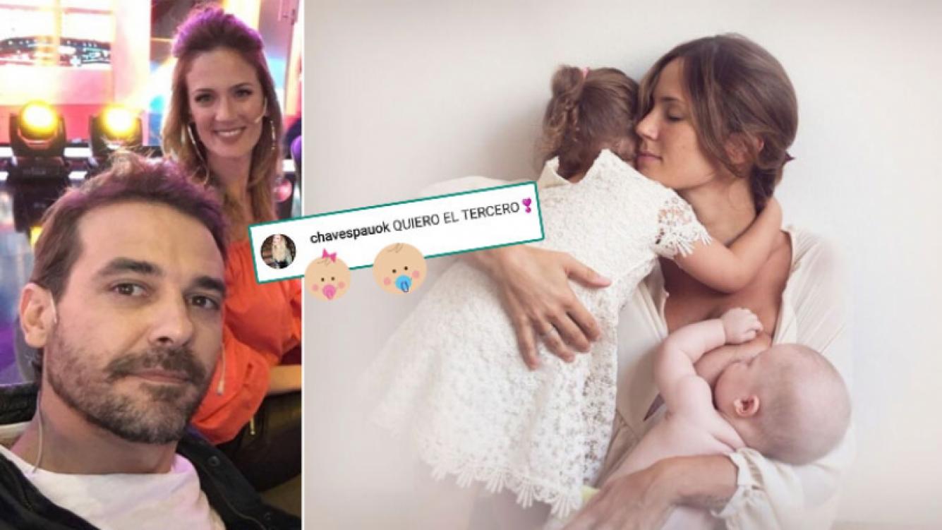 Paula Chaves, ¿con ganas de volver a ser mamá? (Foto: Instagram)