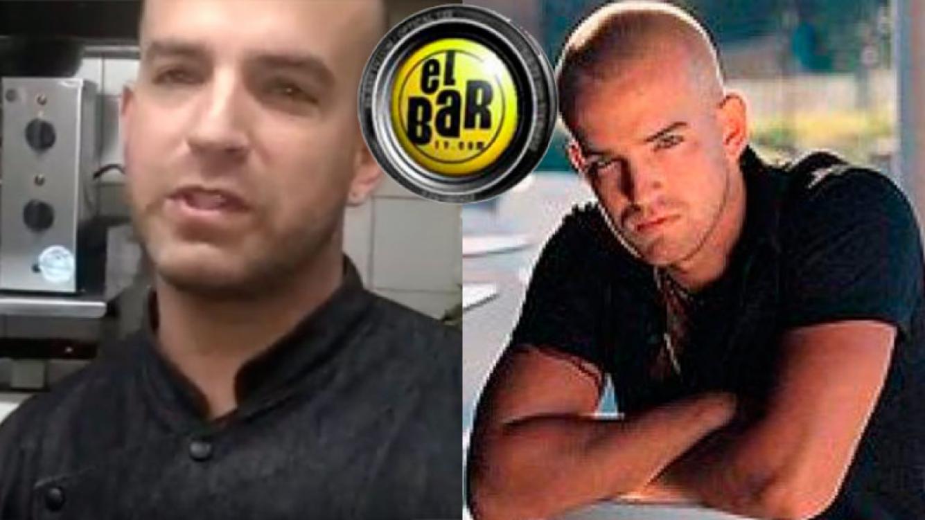 Izquierda: Federico Blanco hace 3 años, cuando estaba radicado en Bahía Blanca con su local de comida oriental. Derecha: el ganador de El Bar, en 2001.