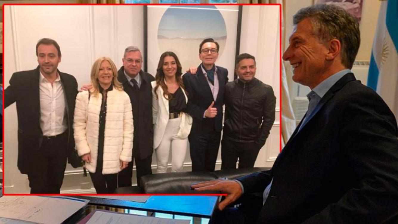 ARGENTINA: Mauricio Macri se reúne en Olivos con periodistas de espectáculos