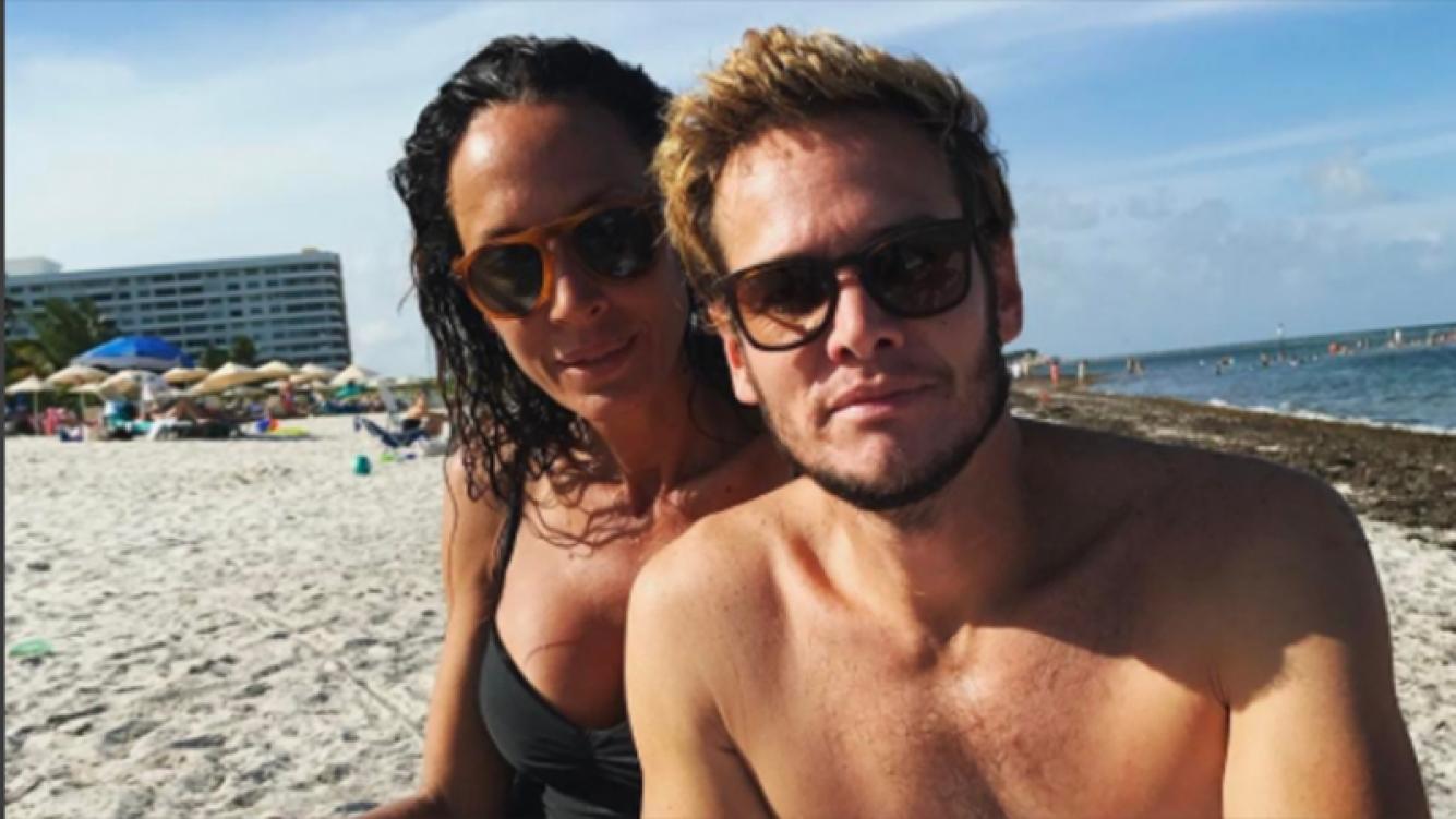 Emanuel Ortega y Ana Paula Dutil, juntos en Miami (Foto: Instagram).