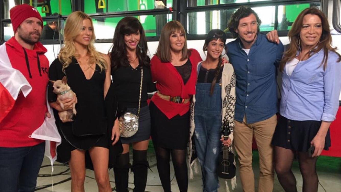 Susana Giménez y el grupo de famosos top que la acompañarán en su apertura (283.28 KB).