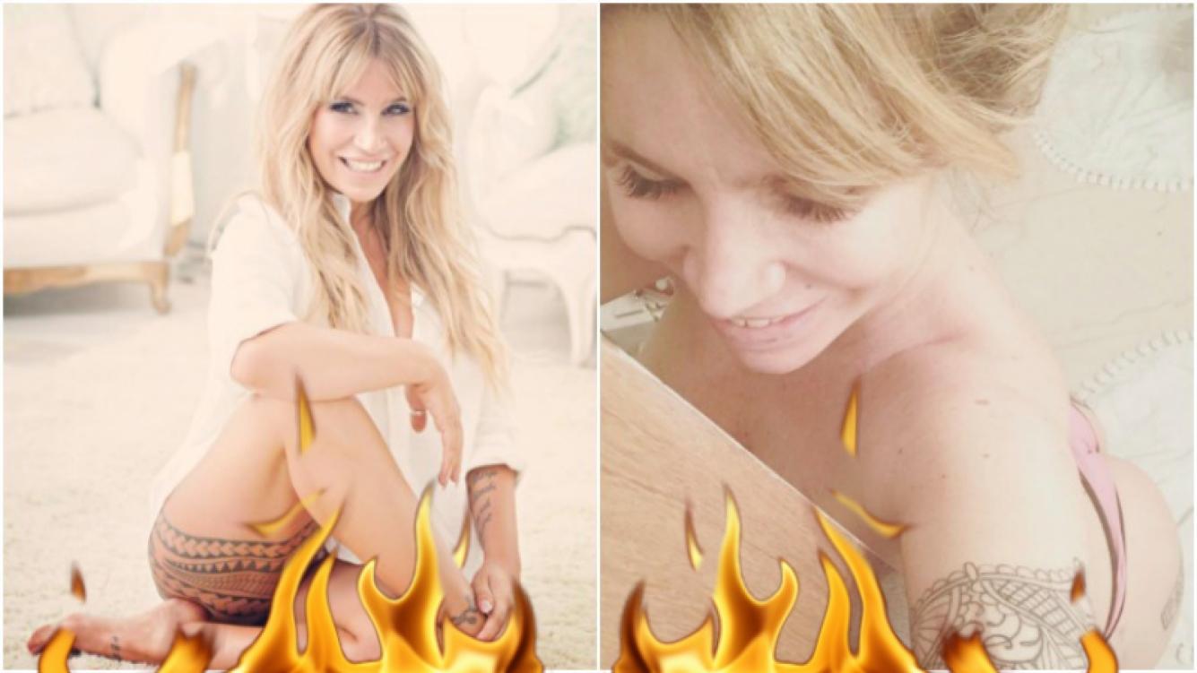 La foto hot de Florencia Peña en el baño y en tanga (Fotos: Instagram)