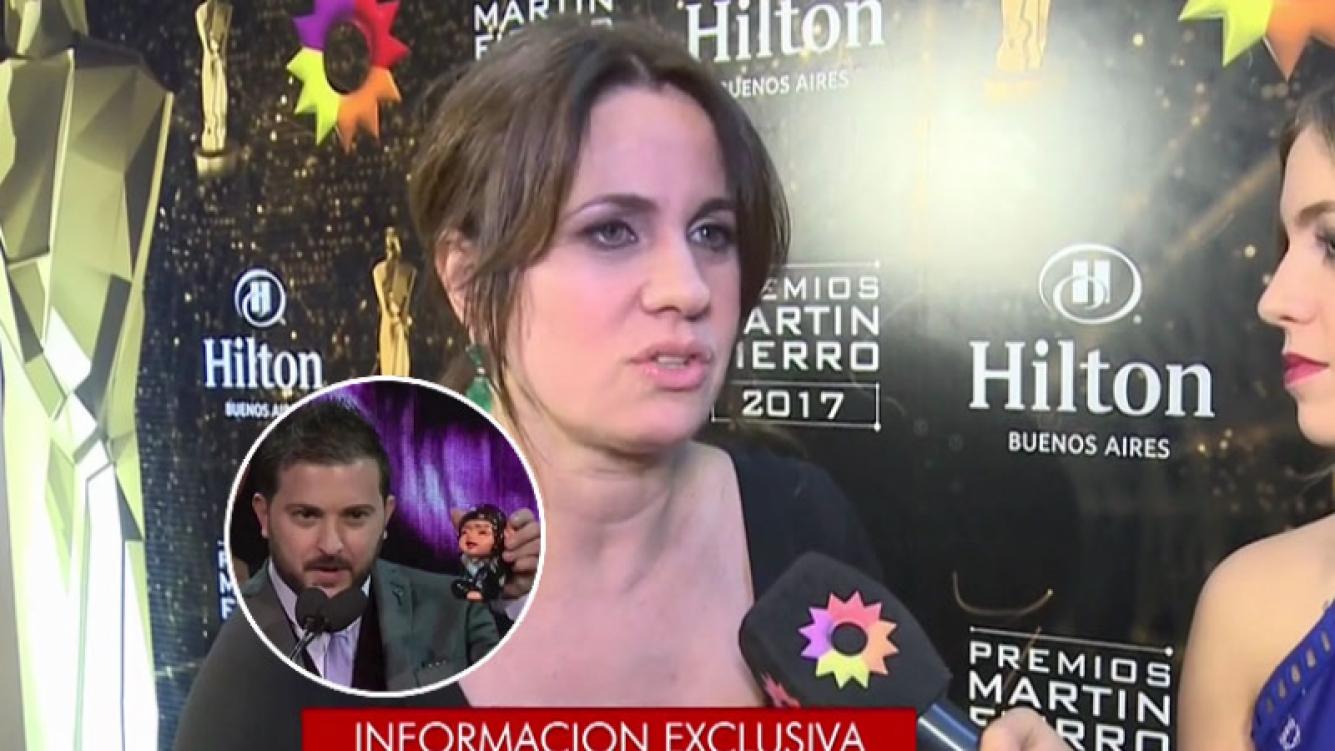 Nancy Dupláa desaprobó la humorada de Brancatelli a Lanata. Foto: captura TV