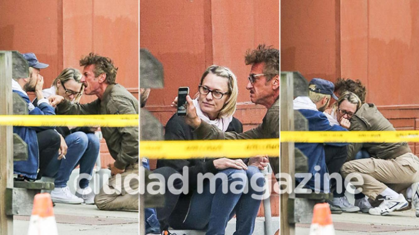 Sean Penn discute con novio de su hija