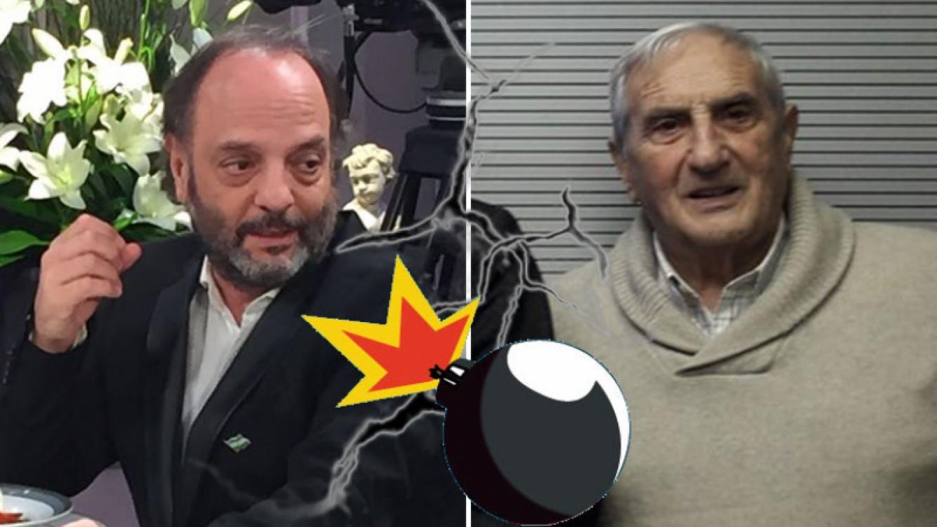 Baby Etchecopar echó en vivo al panelista Luis Pedro Toni — Escándalo