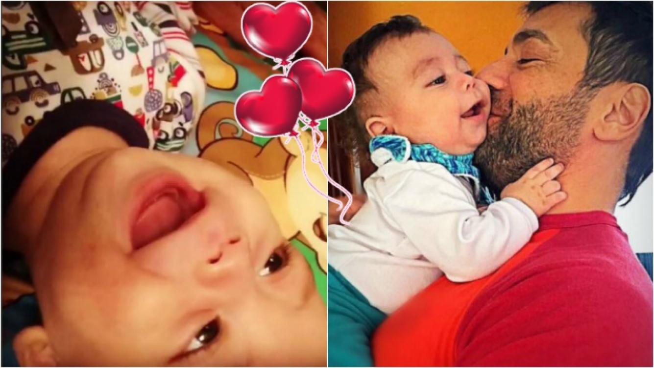 """Las carcajadas de Félix, el hijo de Gustavo Conti y Ximena Capristo: """"Nos reímos como locos"""" Foto: Instagram"""