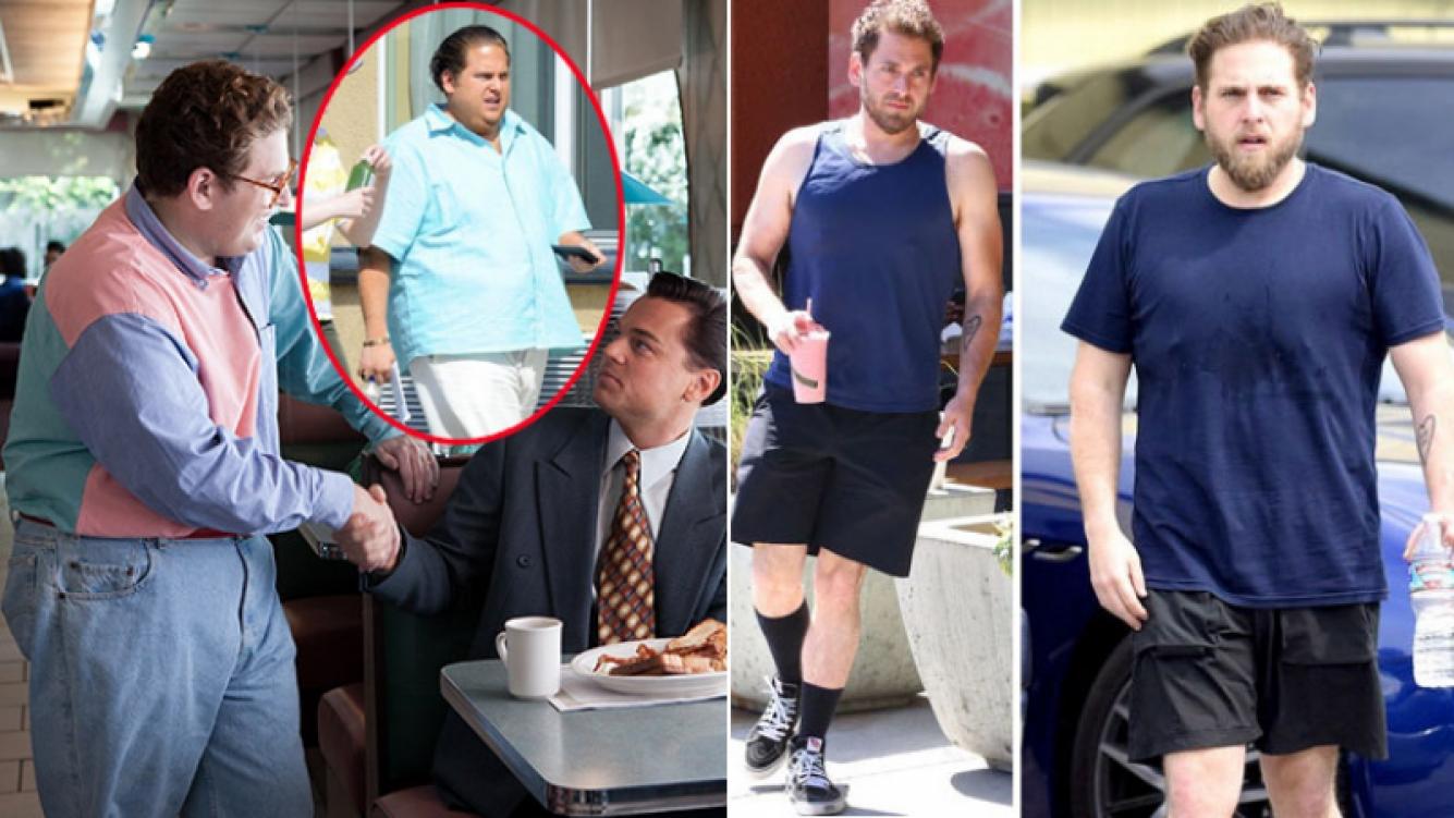 Jonah Hill adelgazó 30 kilos gracias a pura dieta y ejercicios.