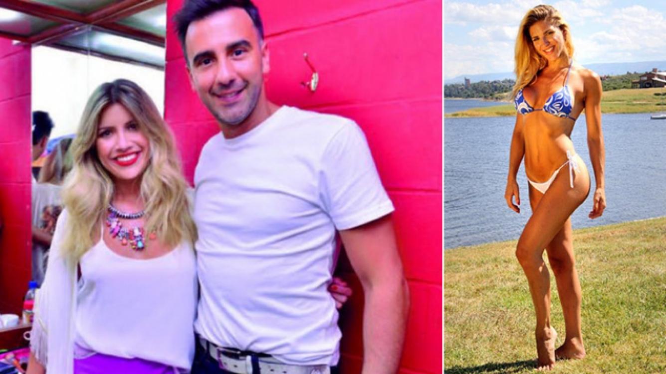 En los últimos días hubo rumores de romance con Macarena Rinaldi (der), bailarina de Piquín. Y Hoppe tuvo una larga reunión con Laurita Fernández en camarines...