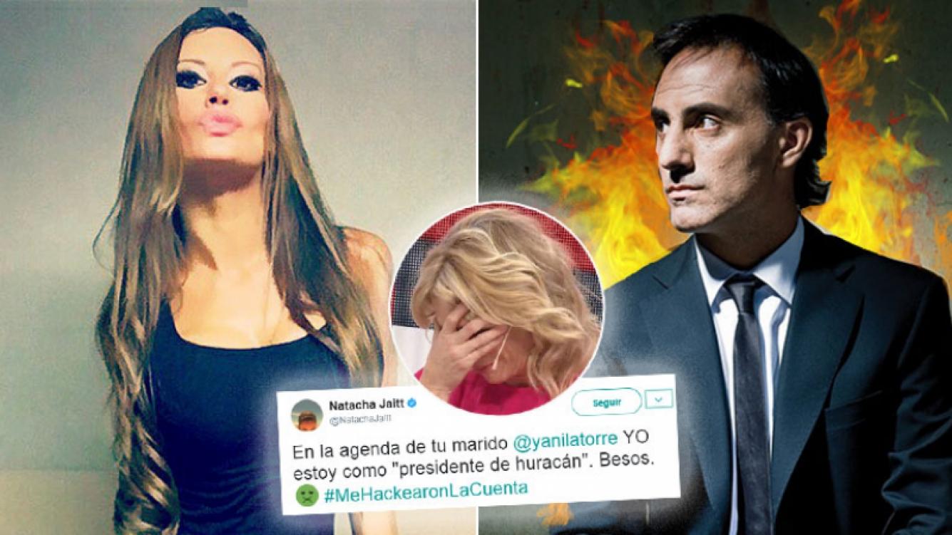 Natacha Jaitt le reveló a Yanina Latorre cómo la tenía agendada Diego