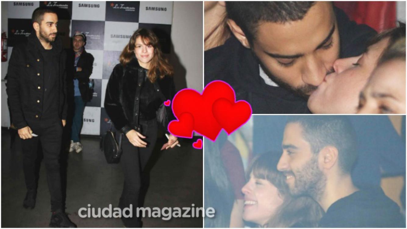 La salida romántica de Rosario Ortega y Lautaro Cura a un recital (Fotos: Movilpress)