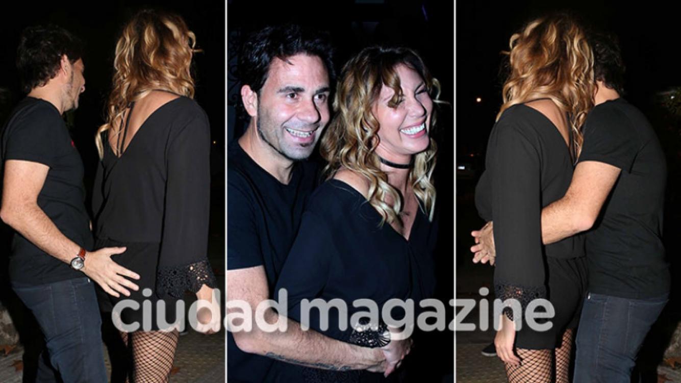 ¡Amor picaresco! Celina Rucci presentó a su nuevo novio: ¡mimos, risas cómplices… y una manito toquetona! (Foto: Movilpress)