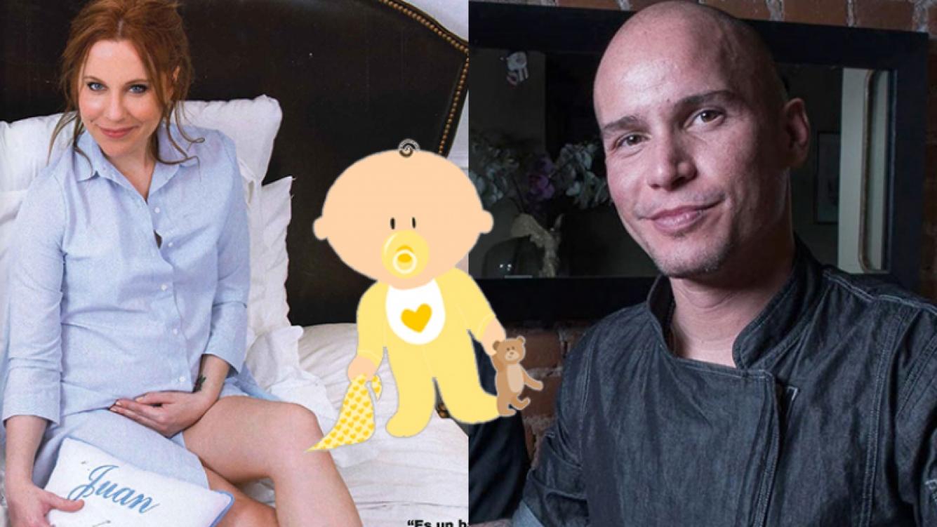 Agustina Kämpfer habló a fondo del papá de su bebé (Fotos: Gente y Web).
