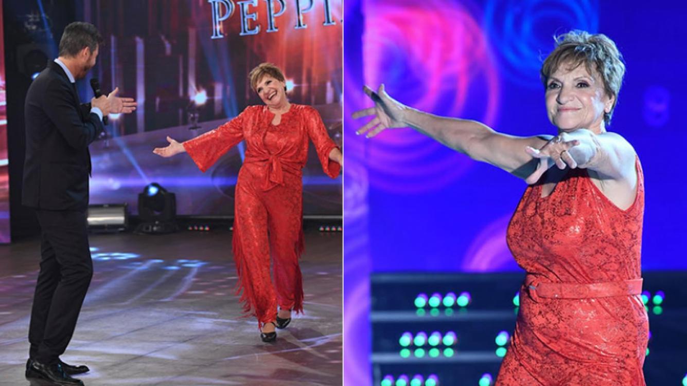 Consuelo, la participante no famosa del Bailando (Foto: prensa Ideas del Sur)