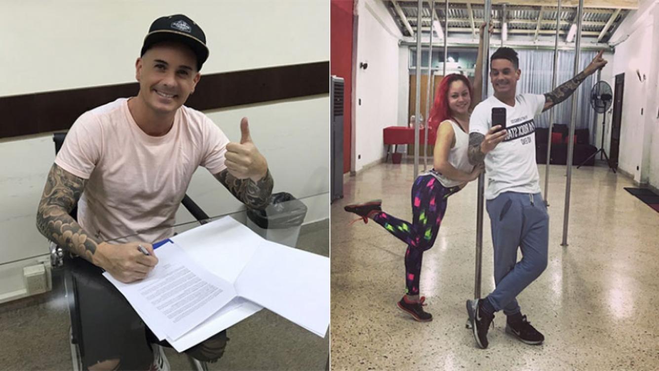 Hernán Caire participará del Bailando en Paraguay