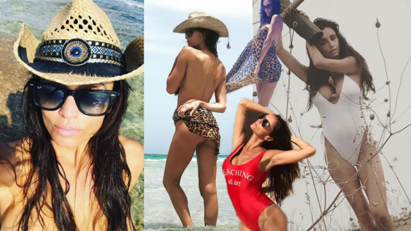 Paz Cornú paseó su lomazo en topless por Ibiza. (Foto: Instagram)